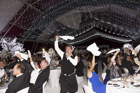 2015 Black Dog Ball held at Paradise Lagoons under the Igloo
